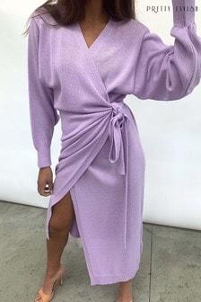 שמלת מעטפת באורך מידי שלPretty Lavish