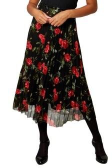 Siateczkowa plisowana spódnica Joe Browns