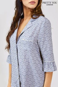 Pretty You London Romance Print Blouse