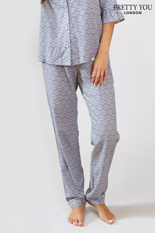 Pretty You London Romance Print Trouser
