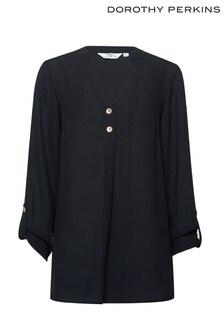 חולצה עם שרוול רול גבוה של Dorothy Perkins