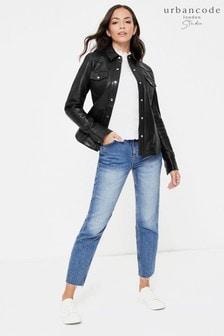 Urban Code Leather Shirt