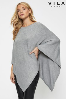Vila Knitted Poncho
