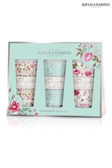 Baylis & Harding Royale Garden Assorted 3 Hand Cream Set