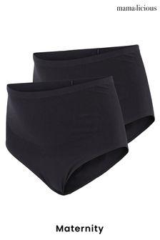 Mamalicious Maternity 2 Pack Pants