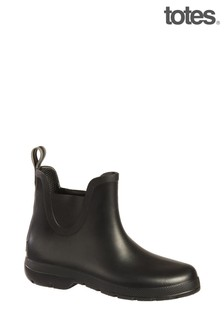 Totes Men's Chelsea Ankle Rain Boot