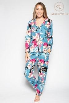 Cyberjammies Langärmeliger, bedruckter Pyjama