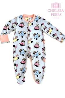 Chelsea Peers NYC BabyEco Pyjamaset mit Einhorn- und Pandadesign