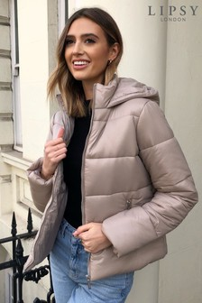 Lipsy Hooded Padded Jacket