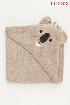 מגבת קפוצ'ון לתינוקות של Lindex בעיצוב דמות חיה