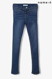Name It Adjustable Waist Skinny Fit Jeans