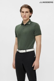 JLindeberg Regular Fit Golf Polo Shirt With Logo Back
