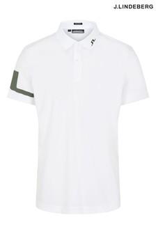 JLindeberg Regular Fit Golf Polo Shirt  With Arm Logo