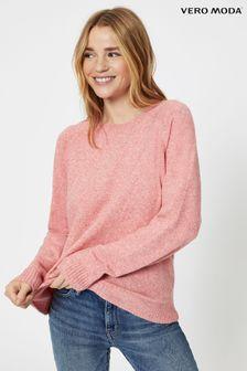 Suéter con cuello redondo de punto deVero Moda