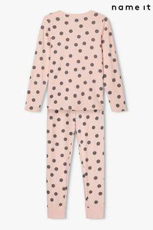 Name It Girls Polka Dot Pyjama Night Set