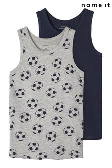 Name It 2 Pack of Boys Vests
