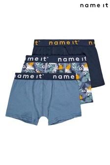 Name It ロゴ入りパンツ 3 枚組