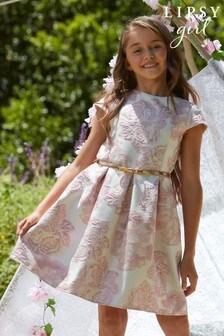 Lipsy Kleid mit Gürtel und Flügelärmeln