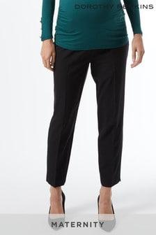 מכנסי הריון של Dorothy Perkins באורך הקרסול עם חגורה מעל הבטן
