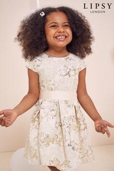 Lipsy Mini Kleid mit Flügelärmeln und Gürtel