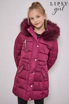 Lipsy Longline Satin Coat