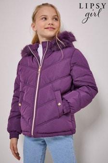 Дутая короткая куртка Lipsy