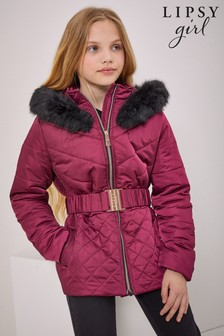 Lipsy Padded Belted Coat