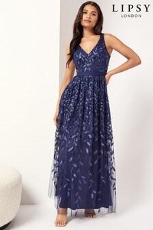 Lipsy Maxi Prom Dress