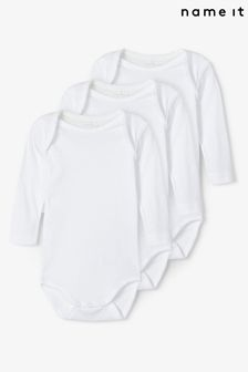Name It Long Sleeve Bodysuit 3 Pack