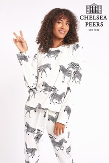 Chelsea Peers Long Pyjama Set Made With Recycled Fabric