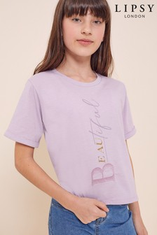 Lipsy Embroidered Tee