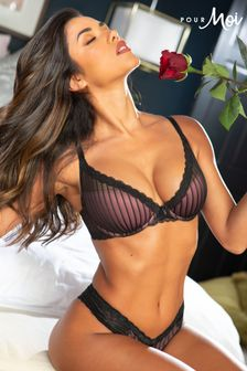 Pour Moi Luxe Linear Contour Lightly Padded Bra