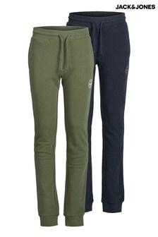 מארז2 מכנסיטרנינג בצבעים שונים שלJack & Jones