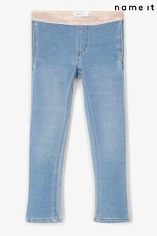 Name It Girls Sparkle Stretch Waistband Jeans