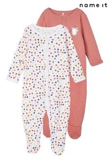 Name It 2 Pack Sleepsuit
