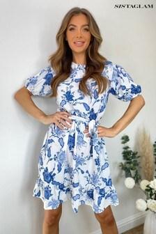 Sistaglam Floral Tea Dress