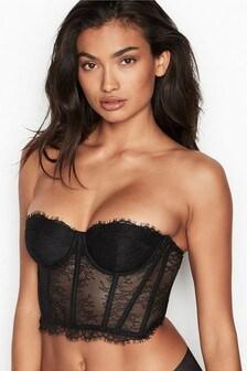 Victoria's Secret Unlined Strapless Bustier