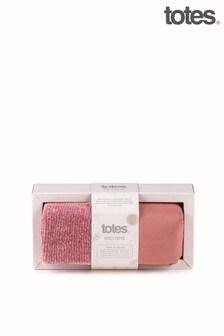 Подарочный набор для релаксации из грелки с лавандой и носков Totes