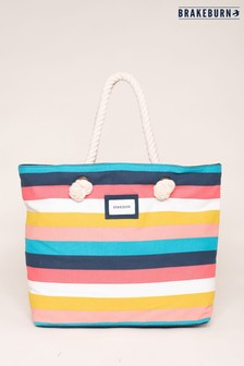 Brakeburn Stripe Beach Bag