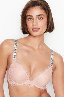 Victoria's Secret Lace Shine Strap Push Up Bra