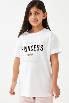 Society 8 Girls Princess Pyjama Set
