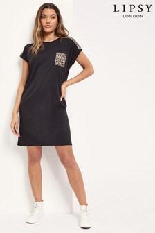 שמלהבגזרת חולצת-טי שלLipsy