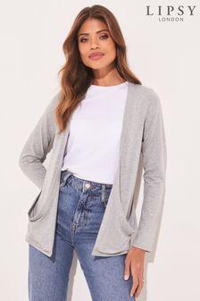 Кардиган с длинными рукавами и карманами Lipsy