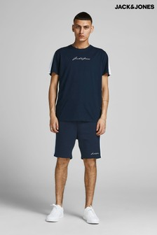 Jack & Jones Tshirt And Sweat Short Set