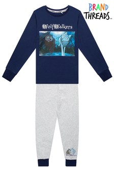 Brand Threads Wolfwalkers 100% Organic Cotton Pyjamas