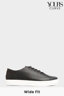 حذاء رياضي أساسي جلد صناعيمقاس بالغ العرض منYours