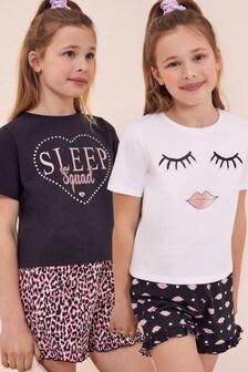 Lipsy 2 Pack Pjamas