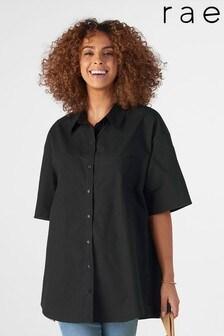 חולצה רחבה מכותנה של Rae דגם Ellie