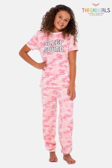 Threadgirls Army Cotton Pyjama Set