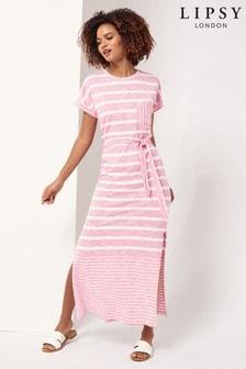 שמלתמקסיבסגנון חולצתטי שלLipsy